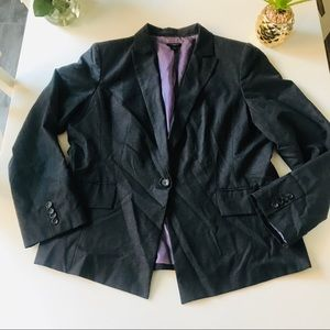 Ann Taylor Size 18 Dark Gray Blazer